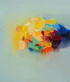 Yangyang Pan | PICDIT #art #abstract #paint #painting #color #colour