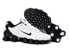 Mens Nike Shox Tlx Black