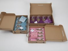 hello wine lovers package 2 #packaging #glassware #box