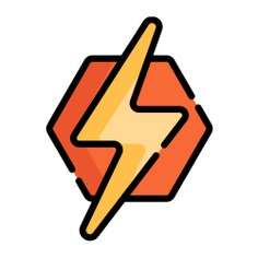 See more icon inspiration related to thunder, shapes and symbols, light bolt, electronics, lighting, electricity, energy and light on Flaticon.