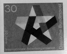 Gebrauchsgraphik #stamp #star #gebrauchsgraphik