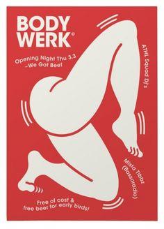 Bodywerk < New : Martin Martonen #illustration #poster #we got beef
