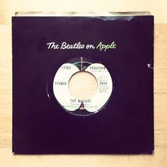 Come Together - The Beatles on Apple vinyl. #beatles #apple #mccartney #come #together #the #vinyl #paul