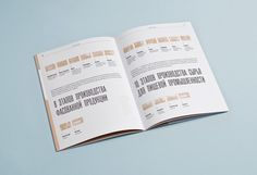 Orekhprom booklet on Behance