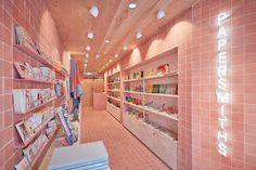 Papersmiths London store design, by B