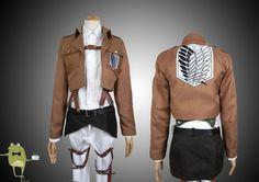Survey Corps Uniform Attack on Titan Cosplay Costume #corps #uniform #survey