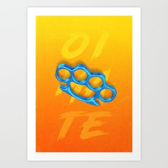 Knuckles by Lunar Boots on Society6