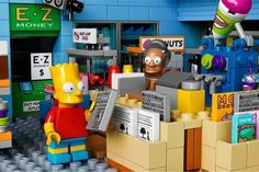 The Kwik-E-Mart From The Simpsons Lego_2 #simpsons #kwik-e-mart #lego #the