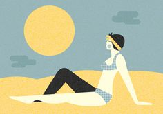 beach #illustration #vector #beach
