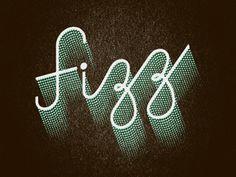 Jj_fizz #script #distressed #type #fizzy #3d