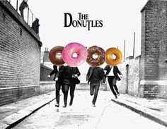 The Donutles : a Collage Poster on JULY2014 #poster #illustration #art