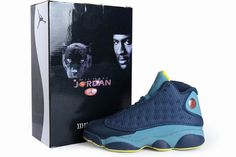 Nike Air Jordan 13 Squadron Blue Mens Shoes #shoes