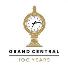 Grand Central Terminal Anniversary Logo by Pentagram   #logo #design