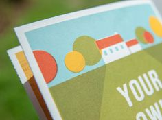Your own backyard #lawson #print #matt #bands #screen #battle #brochure
