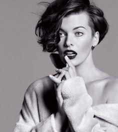 Milla Jovovich by Inez & Vinoodh for The Marella Fall Campaign
