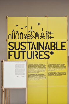 Design Museum – Sustainable Futures* Exhibition — Build #gg