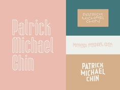 Patrick Michael Chin Rebrand