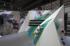 Adidas Outdoor trade show booth on the Behance Network #exhibition #adidas