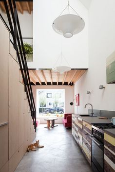 Old Brick House Replaced by a New Sustainable Timber House in Amsterdam 16