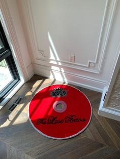Handmade CD Rug