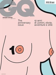 GQ | magazine love #cover #illustration #editorial