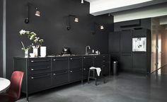Vipp #black #kitchen #vipp