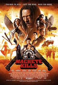 Girls, Guns and Grindhouse Fun Grace the Machete Kills Poster - ComingSoon.net