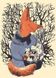 Harry Diaz Blog #screen #print #fox