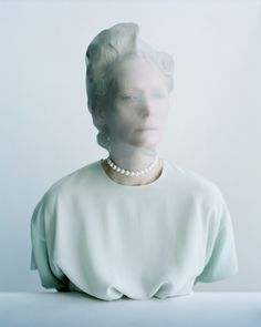 www.astairwaytofashion.com #tilda #photo #swinton #portrait #sculture