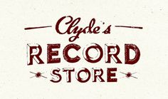 Dribbble - clydesrecords.jpg by Kyle Anthony Miller #miller #kyle #record #store #anthony #clydes