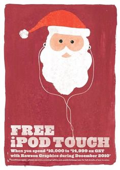 Recent work '11 on the Behance Network #christmas #xmas #santa