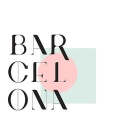 #barcelona #type #typography #lettering #letters