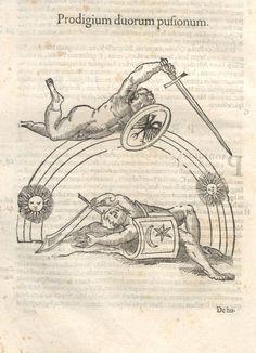 000152 #naturalism #aldrovandi #illustration #latin #ulisse #monster #drawing
