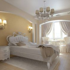 Luxury decor in bedroom #artistic #bedroom #decor #bedrooms #art #artiistic