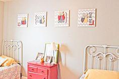 #Create #Owl #ADorable #Wall #Art #DIY