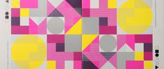 Geographics hero #layered #overlap #lattice #shapes #geometric #square #circle #spatter #fluro