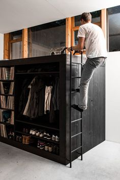 The Living Cube — Till Koenneker #wardrobe #furniture #design #cupboard