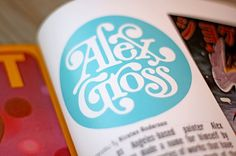 ALEX GROSS - Brett Peter Stenson #fructose #design #alex #brett #gross #stenson #logo #hi #typography