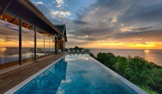 This 5 bedroom luxury phuket villa is an ultra-exclusive hilldside villa estate on Phuket's tranquil northwest coast. Book with Villa Getaways.
