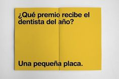 Clinica Dental Mariano Sánchez Síles | Sublima Comunicación #sublima #yellow #clinic #dental #corporate #smile #smiley #identity #murcia #logo