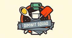 Dimwit Squad | Logo Design #branding #design #illustration #identity #logo