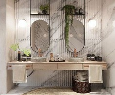 39 Trendy bath room design public mirror #bath