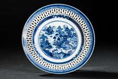 DECORATIVE PLATE TEMPLE LANDSCAPE #Sets #Teasets #Porcelainsets #Antiqueplates #Plates #Wallplates #Figures #Porcelainfigurines #porcelain
