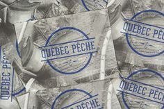 Québec Pêche #branding #fish #quebec #identity #outdoor #sport #fishing #qubec