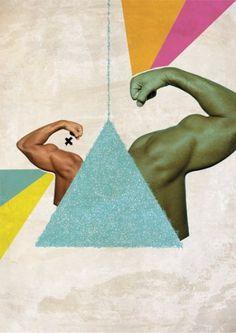 BODIES on the Behance Network #digital #design #graphic #art