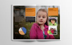 Reverse Rett Annual Report #design #annualreport #brochure #print