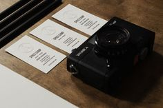 design work life » cataloging inspiration daily #card #identity #camera #business
