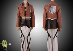 Attack on Titan Eren Jaeger Cosplay Costume #jaeger #costume #eren #cosplay