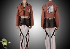 Attack on Titan Eren Jaeger Cosplay Costume #jaeger #costume #eren #cosplay