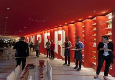 Camper + Shigeru Ban – House of Shoes at Sub-Studio Design Blog #interior #camper #store